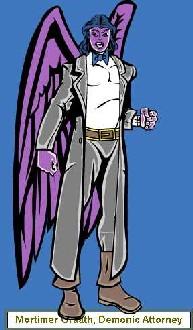 Mortimer Graath, Demonic Attorney
